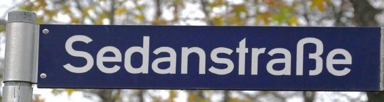 Sedanstraße umbenennen!